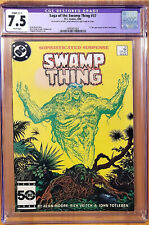 The Saga of Swamp Thing #37 CGC 7.5 1st Full Apearance John Constantine Key