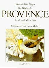 Die Küche der Provence. Land und Menschen von Font-Verge... | Buch | Zustand gut