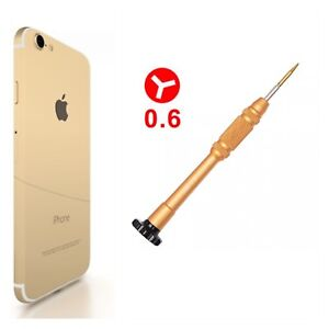 Y0.6mm Tri-point Wing Metal Screwdriver For iPhone 7G 8 XS  Plus Y000 fix Repair
