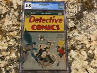 DETECTIVE COMICS #99 CGC 4.5 RARE WHITE PAGE SCARCE EARLY PENGUIN COVER W BATMAN
