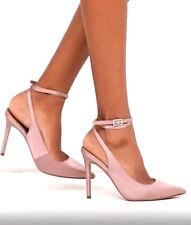 bbaa3d5118 High Heel Pointed Toe 4.25 in Stiletto Women's Beige Satin Pumps ...