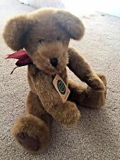 THE  BOYDS COLLECTION LARGE PLUSH JOINTED STUFFED TEDDY BEAR Pendleton J Bruin