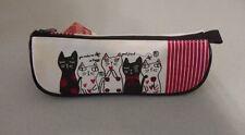 Daiso Japan Pencil Case - Cat Friends - Canvas Bag
