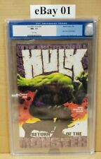 INCREDIBLE HULK #34 CGC 9.6, NM+, WHITE PAGES, 2002: RETURN OF THE MONSTER