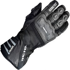 Richa Cold Protect Gore-tex GTX 100% Waterproof Warm Winter Motorcycle Gloves