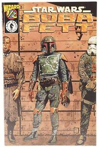 👀 1997 NM STAR WARS BOBA FETT #1/2 Dark Horse Comics 👀🎉💎