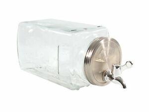 Kühlschrank Getränkespender - 3 L mit Zapfhahn - Wasser Saft Spender Dispenser