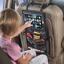 Auto Tablet/porta iPad Sedile Posteriore Organizer con contenitore Tasche MC17/5