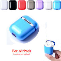 NEW PC Case Cover Earphones Pouch Sleeve Wrap Protective Skin For Apple Airpods