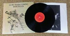 Bob Dylan - Slow Train Coming LP - FC 36120 - VG+/VG