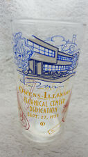 Vintage advertising measuring glass - Owens - Illinois (1056)