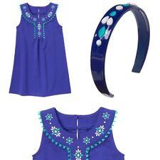 Gymboree Dress Purple Sleeveless Sparkle Safari Size 10