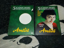 Amelie Dvd +Slipcover Digipack 2 Disc Free Shipping