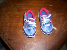 SPIDERMAN SHOES SPIDER-MAN TODDLER 5 VELCRO LIGHT UPS