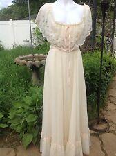 Jessica MClintock Vintage 70's Gunne Sax Dress Size 11