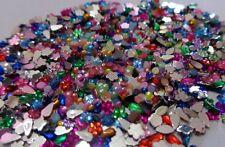 100 brillantini perline fimo 3d decorazione unghie nail stickers adesivi decals