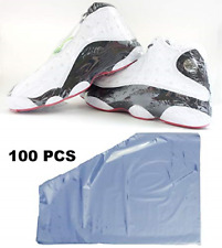 Shoe Shrink Wrap Bags, 100 Pcs - 50 Pairs of Sneaker Shrink Wraps Fits up to Men