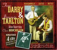 TOM&TARLTON,JIMMIE DARBY-COUNTRY BLUESMAN WHOSE SONGS AND STYLE  4 CD NEU