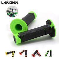 For Kawasaki KFX KLX 110L 140L 250S 250SF 22mm Hand Grips Handle Rubber Bar Gel
