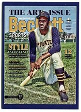 Roberto Clemente 2014 Cleveland National Steel City Beckett Cover Card 21/500