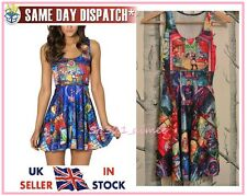 Tale as Old as Time Beauty and the Beast skater dress Disney Milk Black Belle UK