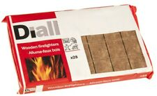 28 Pack of Diall Wooden Firelighters - For Fires & Barbecues