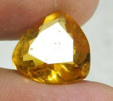 UNTREATED NATURAL 7.15 Cts TRILLION CUT YELLOW SAPPHIRE GEMSTONES RM689