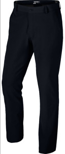 Nike Golf Weatherized Wind Resistant Dri-Fit Men Pants Black 619818 (W32x30)