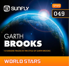 GARTH BROOKS SUNFLY KARAOKE CD+G