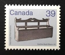 Canada #928 HP MNH, Settle Bed Artifact Definitive Stamp 1985