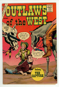 JERRY WEIST ESTATE: TEXAS RANGERS IN ACTION #32 & OUTLAWS OF THE WEST #40 (VG+)