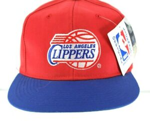 Los Angeles Clippers Red/Blue Baseball Hat Cap Snapback
