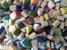 100 - 3/8 inch MIXED COLORS Ceramic Mosaic Tiles