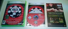 World Series of Poker 2008 Official Video Game Xbox 360 Ottimo Edizione Italiana