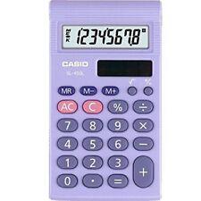 Calculatrices Casio format de poche Affichage 1 lignes