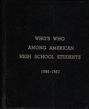 Who's Who among American High School Students, 1986-87  21st Annual Ed. Vol. X