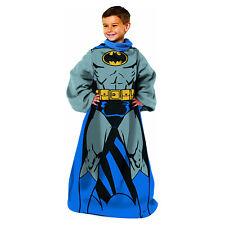 DC Comics Batman Comfy Kids Blanket w/ Sleeves 48'' x 48''