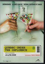 Quebec Under The Influence / Quebec Sur Ordonnance (DVD)  NEW