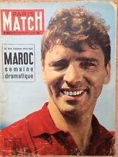 Paris Match 23 Juil 1955 - Burt Lancaster Ruth Ellis Maroc Grandval Hitler