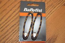 Job Lot! BaByliss 10 X Pack De 2 Écailles De Tortue Imprimé Animal Snap Clips Cheveux