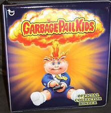 2012 GARBAGE PAIL KIDS ADAM BOMB RARE PURPLE BINDER OFFICIAL COLLECTOR EDITION