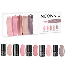 NEONAIL I am Confident Set 5x UV Nagellack 3 ml Farben von Pink Beige und Grau