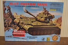 Renwal Blueprint models by REVELL m47 Patton TANK 1:32 NUOVO & OVP
