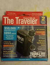 The Traveler Portable Surge Protection for Your Notebook & computer.2 A/C Outlet