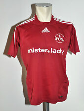 2007-08 1fcn Norimberga MAGLIA TG. 164 ADIDAS MISTER LADY Away Jersey Rosso