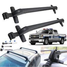 Aluminum Car Top Luggage Roof Rack Cross Bar Carrier Adjustable Window Frame UPS