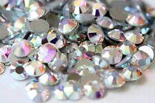 CRYSTAL AB Swarovski 2058 Crystal Flatback Rhinestones 144 Pieces 7ss 2.0mm