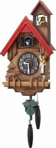 Rhythm Clock Wall Clock Analog Cuckoo Tyrolean R 4MJ732RH06 4903456196043
