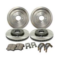 Front Brake Rotor/&Posi-Quiet Ceramic Pad 3PCS For 1991-1995 Suzuki Sidekick