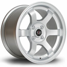 ROTA GRID ALLOY WHEEL 15 X 8 4X100 ET20 67.1MM CB SILVER